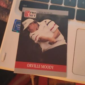 Orville moody golf card
